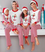 d82ab5dbc1b7a Mother & kids matches family christmas pajamas for couples father son  mother and daughter matching clothes pjs Xmas pyjamas