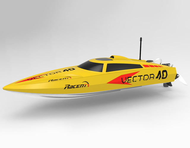 2016 high quality High Speed 2.4G 40-45KM/H Racing RC Boat Electric Remote Controlled Speedboat with Super Brushless motor