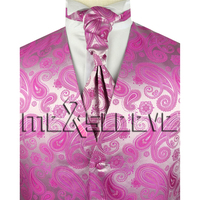 Wedding Formal Wear Waistcoat Waistcoat Ascot Tie Cufflinks Handkerchief
