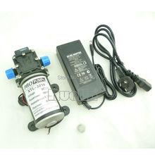 100 Вт тип Обратный клапан Мини DC Диафрагма небольшой Насос 12 В высокого давления 8L/min с фильтром экран и 12 В 8А адаптер питания