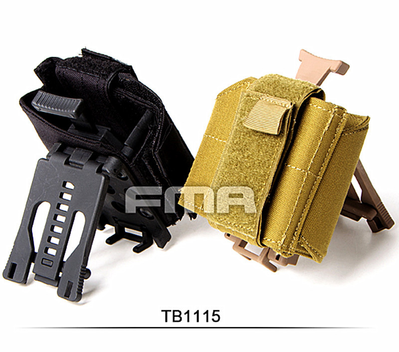 ФОТО FMA Universal Holster for Airsoft Tactical Belt Outdoor Portable Multifunctional Accessory Pouch Military Molle Free Shipping