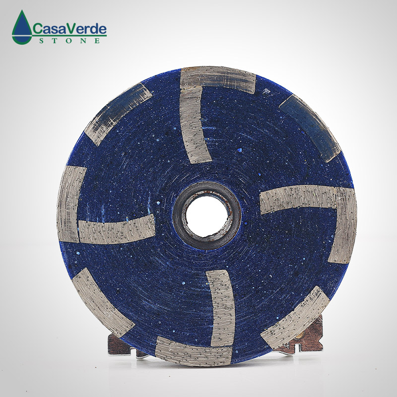 Free shipping coarse# 4 inch diamond filling resin grinding cup wheels M14 or 5/8-11 thread for grinding concrete and stone diameter 50mm diamond sintered standard stubbing grinding wheels for stone processing