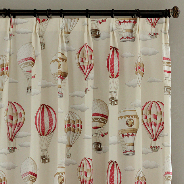 Red Curtains beige red curtains : Aliexpress.com : Buy Beige red Cotton Blend Hot Air Balloon ...