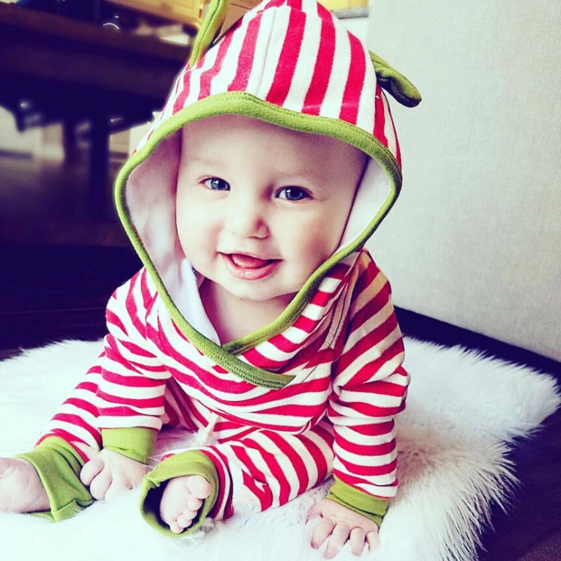 2 Pcs / sets Cute Autumn Newborn Baby Girls Boys Baby Warm Hooded Clothing Outfit + Pants Clothes Sets 0-3 Y