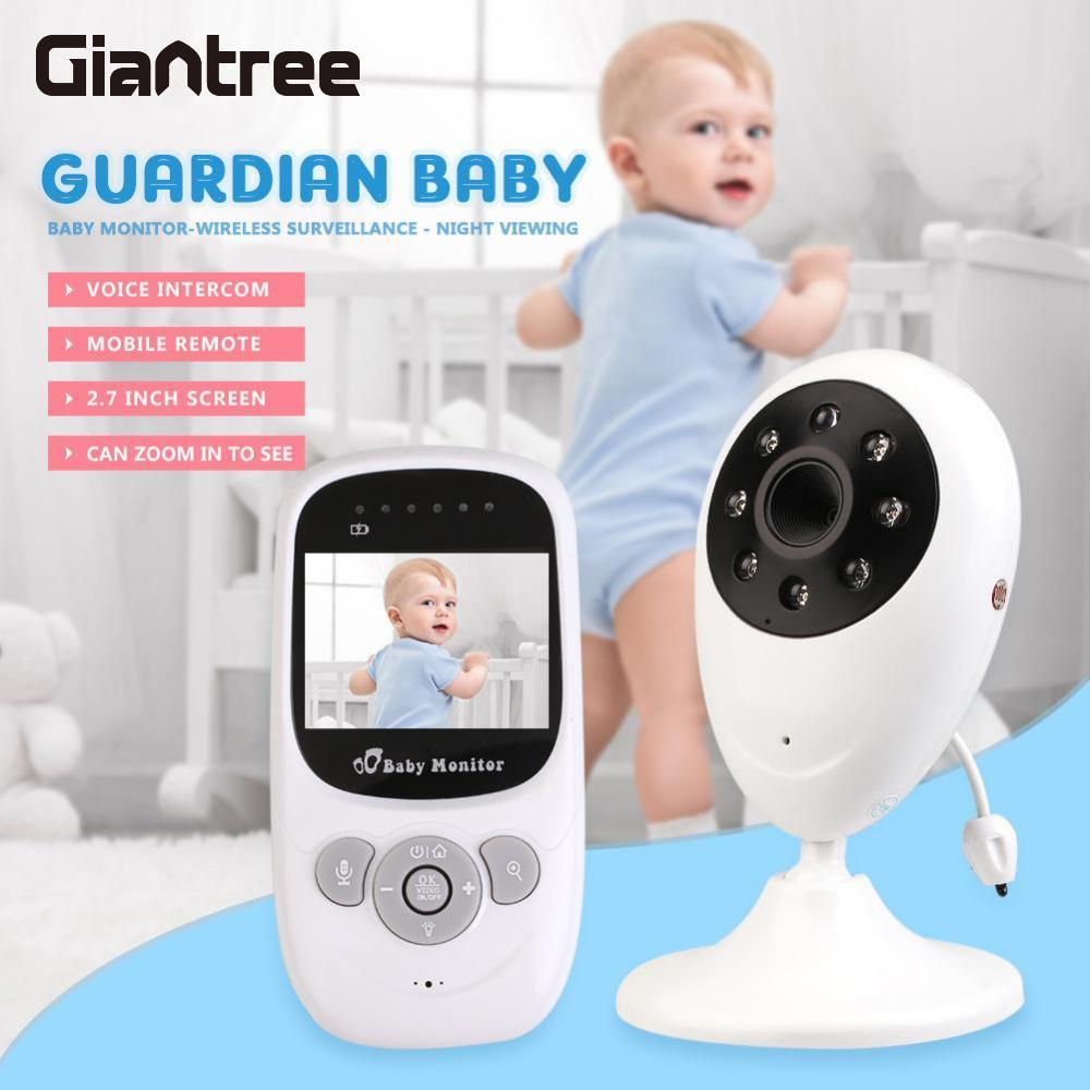 giantree HD Baby Monitor Digital Color Audio Video Infant Wireless Camera Temperature Display Night Vision Intercom Sleep Nannygiantree HD Baby Monitor Digital Color Audio Video Infant Wireless Camera Temperature Display Night Vision Intercom Sleep Nanny