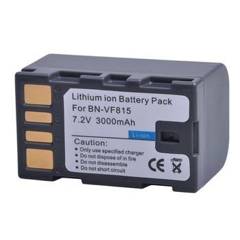 Tectra 2pcs BN-VF815 BN-VF815U BNVF815 BN VF815 Battery for JVC GR-D720US GR-D728 GR-D750US GR-D771 GR-D720 GR-D740US Battery фото