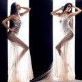 2016 горячие продажа сексуальная певица костюм перспектива dress бар ds одежда сценический костюм для женщин танцоров певица этап наряд