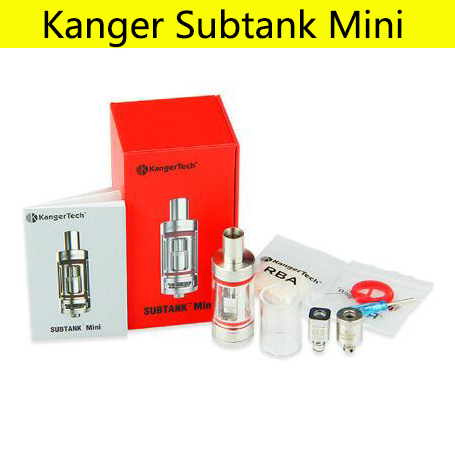 D'origine kangertech réservoir secondaire mini atomiseur RBA RTA réservoir cigarette électronique vaporisateur clearomizer Reconstructible OCC Bobine 4.5 ML