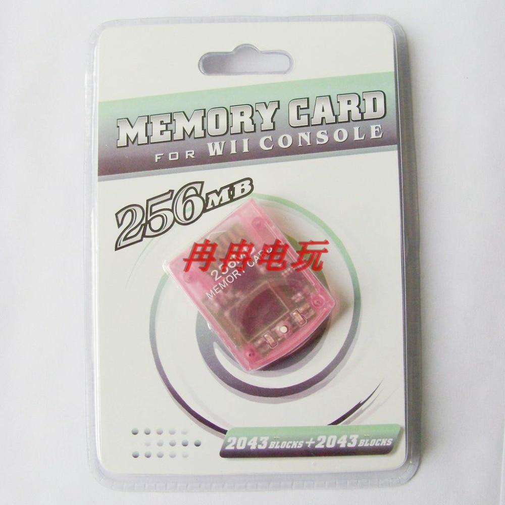 Presentes de Natal mb de Alta Qualidade para o Protetor de Cartão de Armazenamento de Memória de 256 mb para Nintend Wii para Wii para Wii Memoria 10 Pcs 256