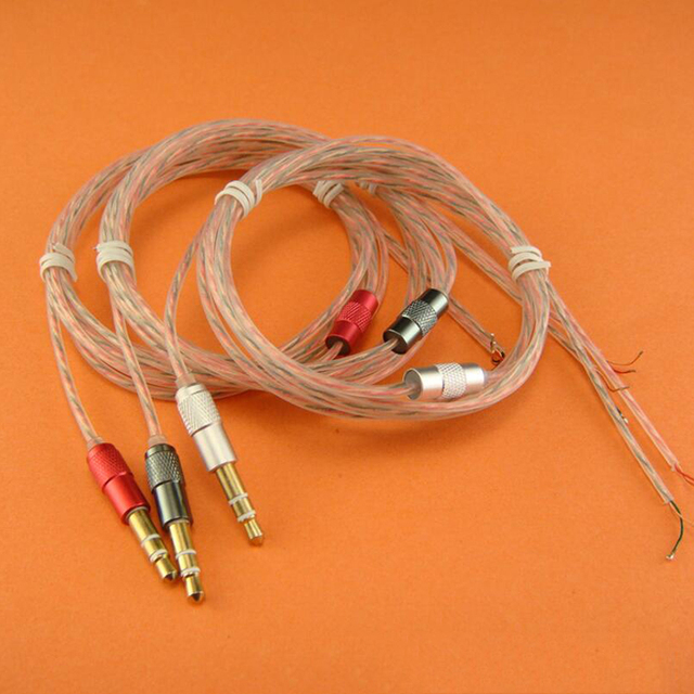 1.2m DIY ie800 Earphone Cable HIFI Replacement Audio Cables Wire ...