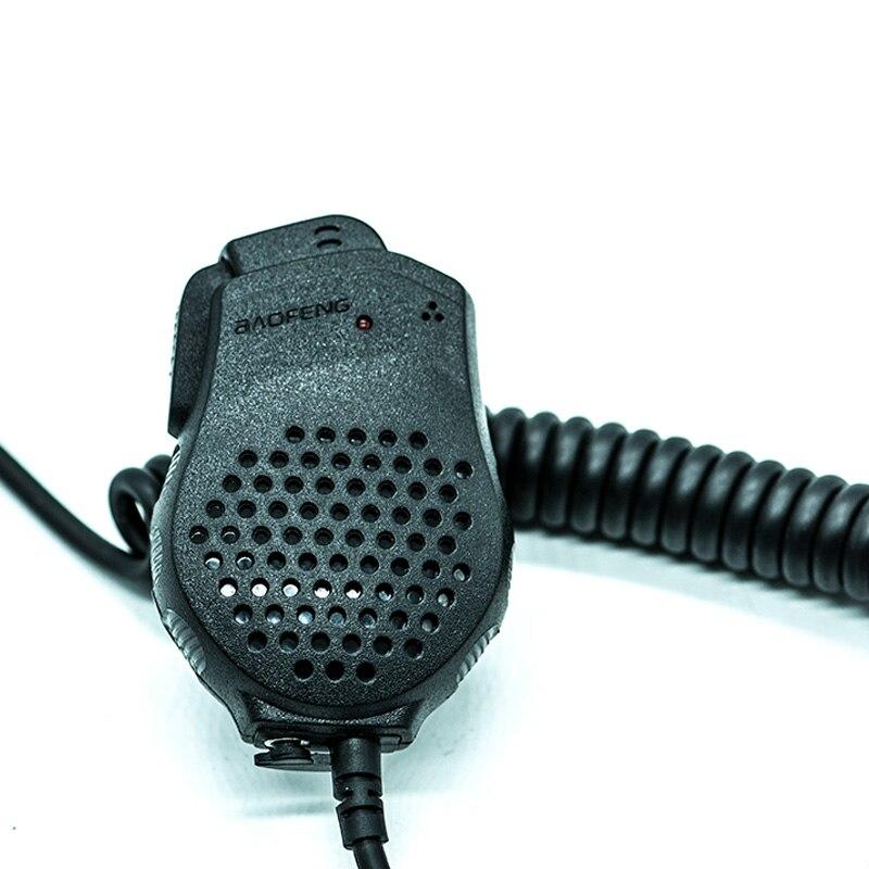 New Portable Baofeng Speaker Mic Dual PTT for Two Way Radio UV 82 UV 82L UV