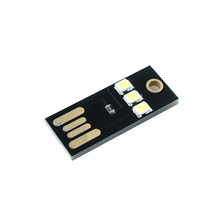 1 Pcs/5 Pcs Neue Tragbare Mini Weiß USB Power LED Licht Ultra Low Power 2835 Chips Tasche Karte lampe Nützlich Nacht Camp(China)