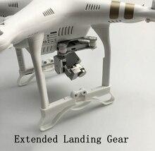 цена на For DJI Phantom 3 Heighten Extension Legs Stent Landing Gear Bracket Shock Absorber Raised Tripod Board Extending Protector