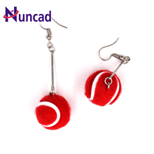 New Sporty  tennis  pendant long section of the movement earrings nedent jewelry For women Gift Trendy
