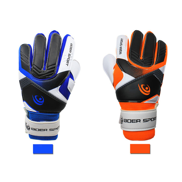 Youth football match with goal keeper gloves thick latex non-slip gloves  training gloves Football supplies