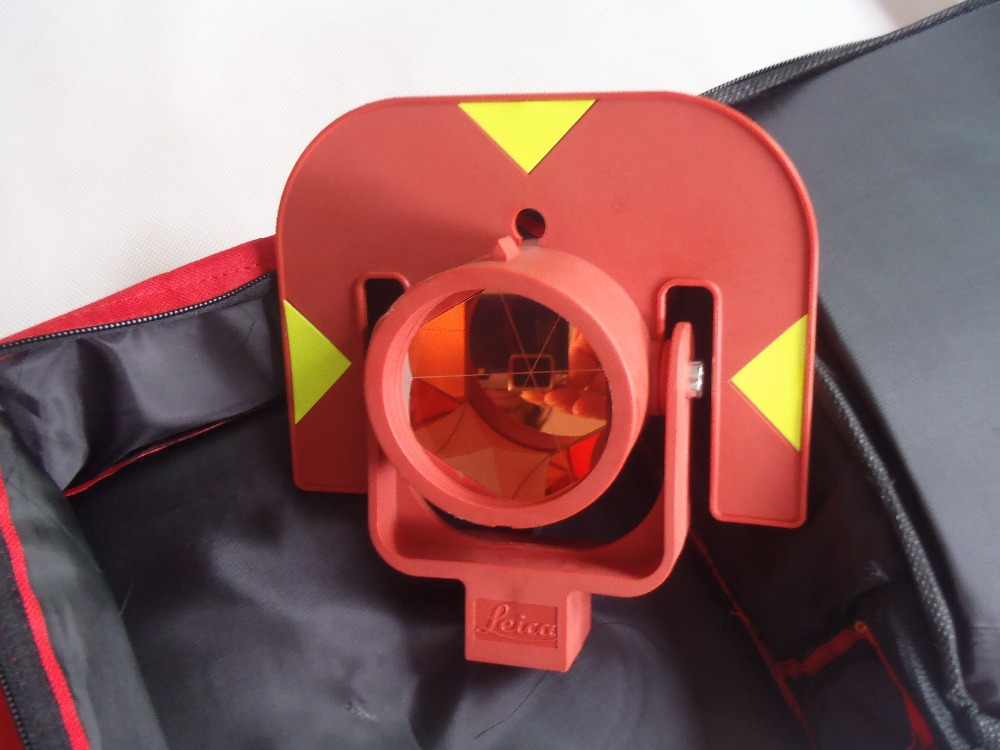 BRAND NEW RED color prism ,for leica total stations brand new red color prism for leica total stations