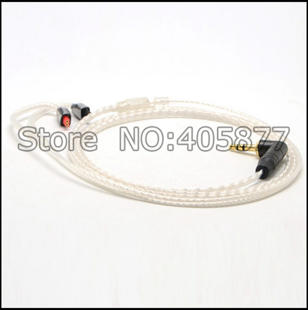 High quality 120cm headphone Upgrade Cable for im50 im70 im01 im02 im03 im04 headphone cable
