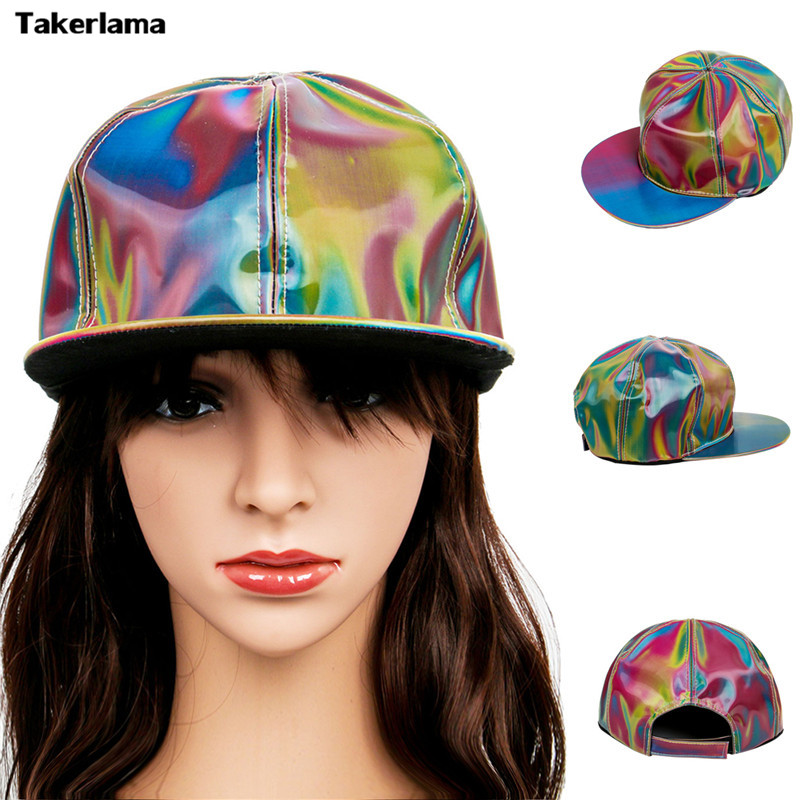 Takerlama Fashion Marty McFly Licensed for Rainbow Color Changing Hat Cap Back to the Future Prop Bigbang G-Dragon Baseball Cap ...
