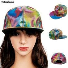 Marty McFly Takerlama Moda Licenciado para Rainbow Color Mudando Cap Hat Prop Bigbang G-Dragão de Volta para o Futuro Boné de beisebol