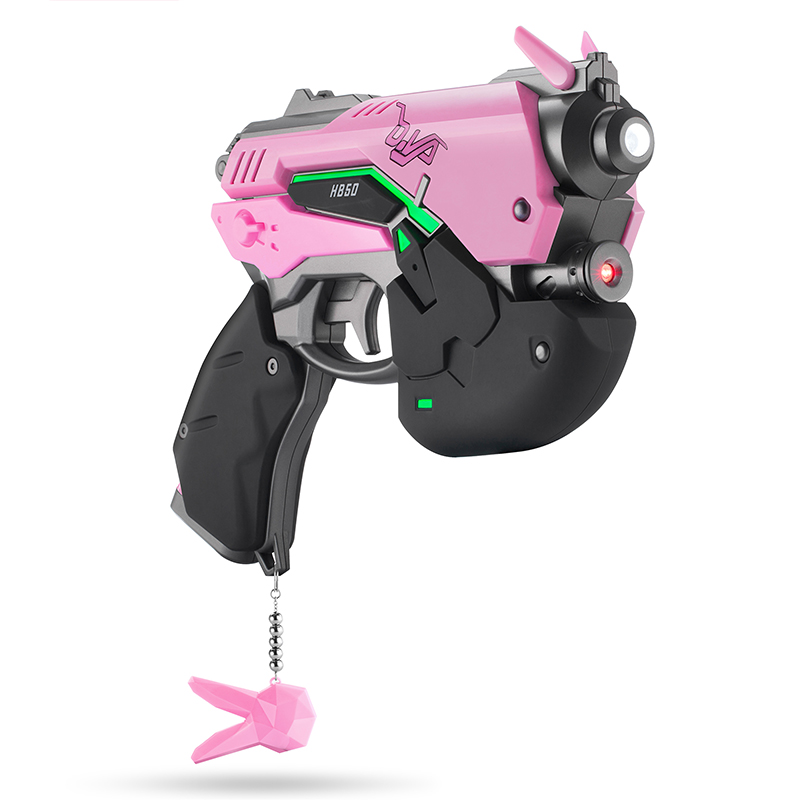 D.va Gun Headphone For Cosplay Weapon Hana Song D Va Prop Pistol Headset Accessories For Halloween Christmas Gift Dva Costume Props Novelty & Special Use