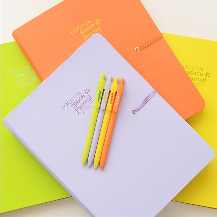 Color Magic B5 Big Planner Agenda Scheduler Lined Papers Diary With Pen Journal Study Notebook sacred flower planner agenda notebook bound diary travel school to do list scheduler