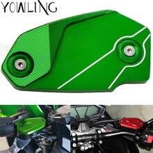 Motorcycle CNC Front Cylinder Reservoir Cover For Kawasaki Z800 2013-2016 z900 2017 2018 ER6N ER6F VERSYS 650 ninja650 2009-2014