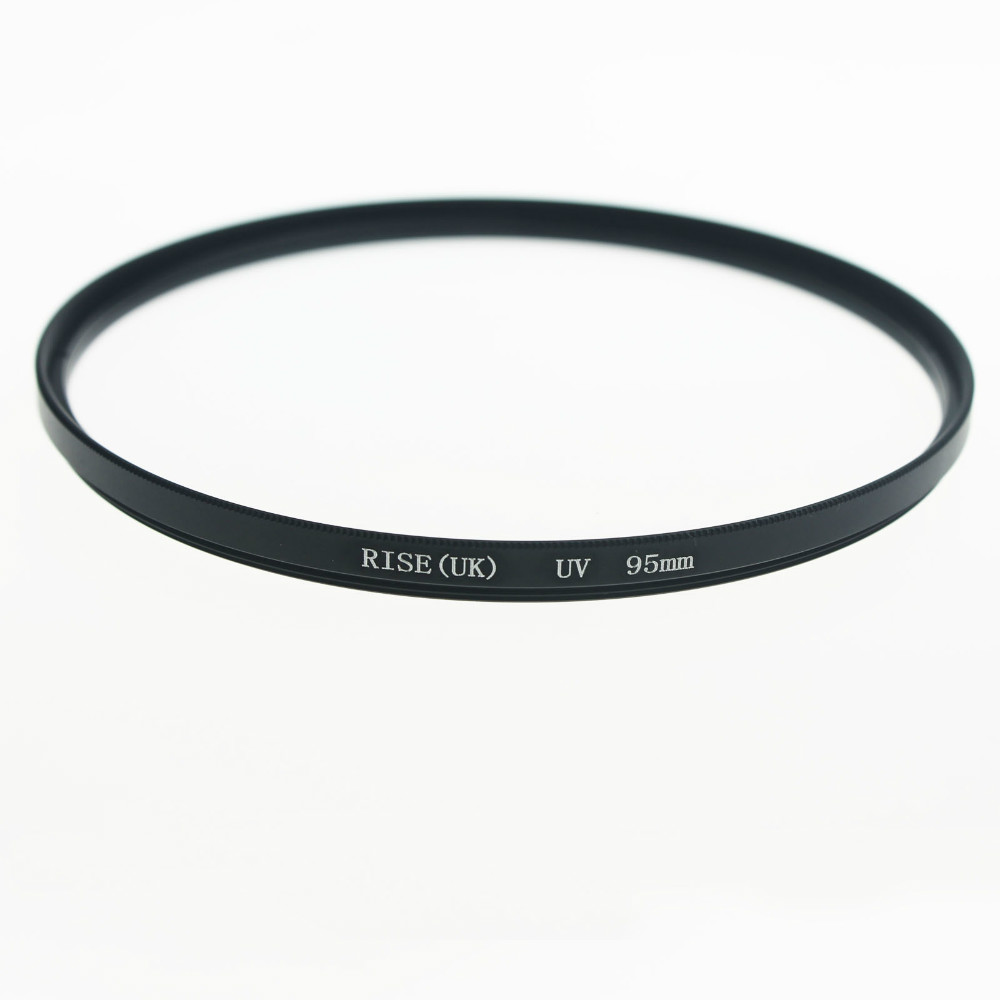 RISE UK 95MM UV Ultra Violet Filter Lens Protector for DLSR 95mm lens free shipping