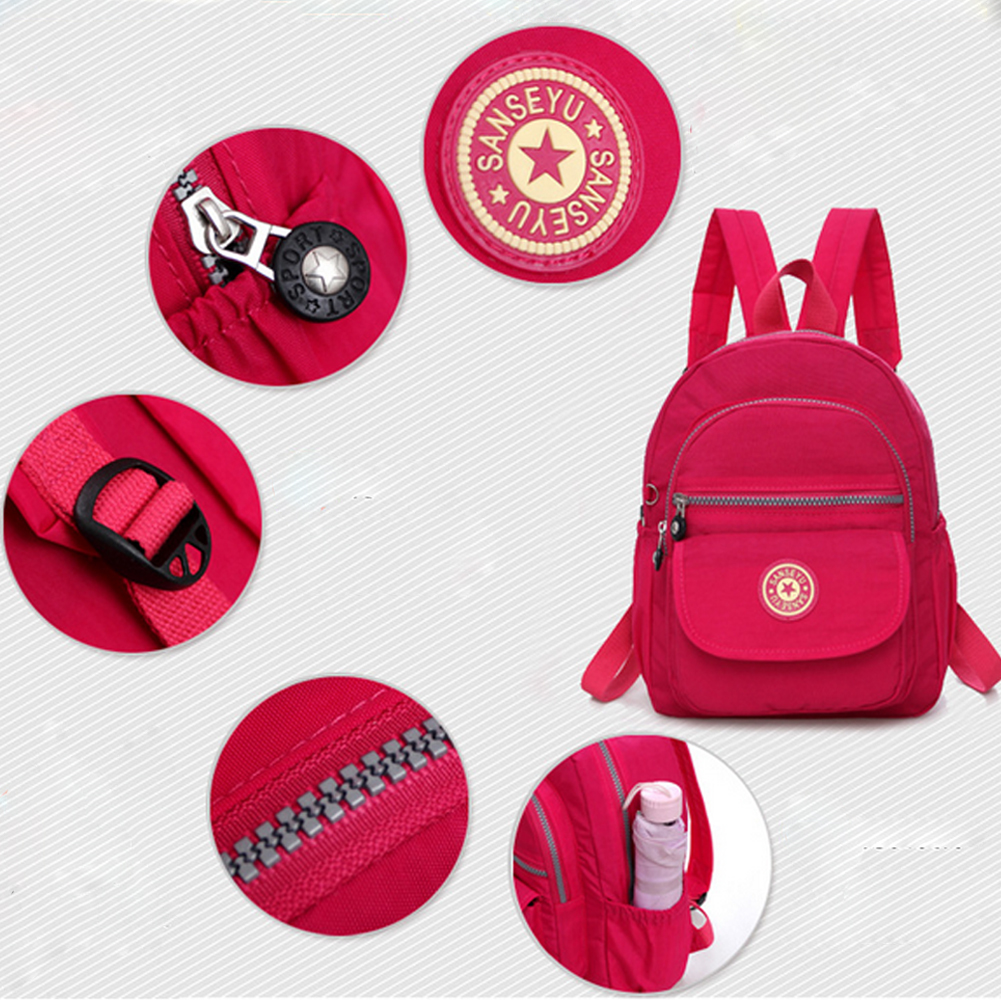 Повседневное женский рюкзак с защитой от краж с простой твердой колледж Стиль школьная сумка Мода Дорожная сумка для путешествий