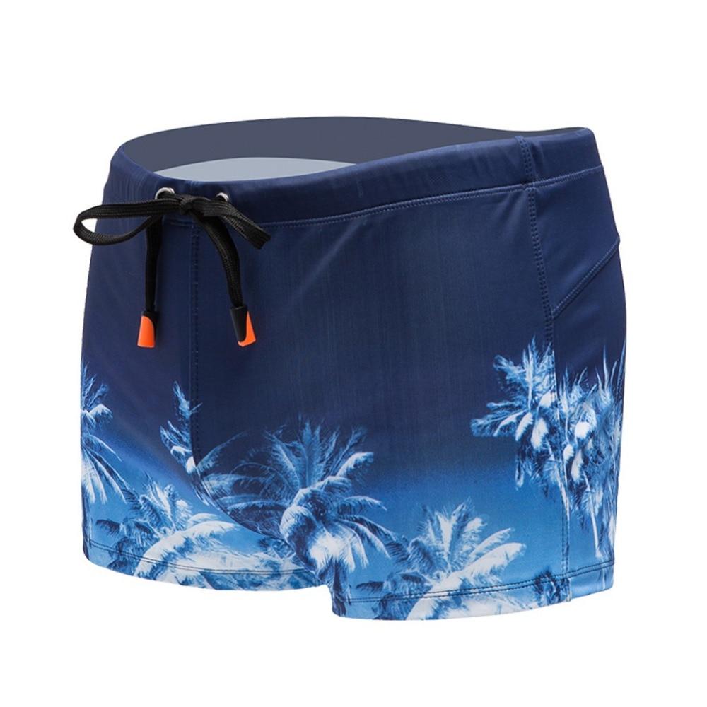 2019 Fashion men Beach sports surfing boxer shorts sexy breathable underwear swim trunks summer swimming trunks shorts 40M28 (3)