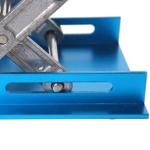 "Image 4 - 1 pc 4 ""x 4"" roteador de alumínio mesa elevador carpintaria gravura suporte de levantamento de laboratório rack"