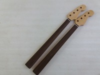 2pcs Maple FRETLESS bass Neck For 20 fret Electric Bass Guitar Parts Replacment