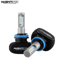 NIGHTEYE H11 50W 8000LM 6500K CSP LED Car Headlights Conversion Kit Fog Lamp Bulb DRL Super