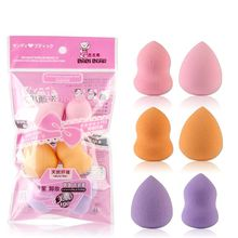 6Pcs Soft Colorful Sponge Puff Makeup Sponge Blender Women Foundation Puff Flawless Powder Smooth Beauty Egg