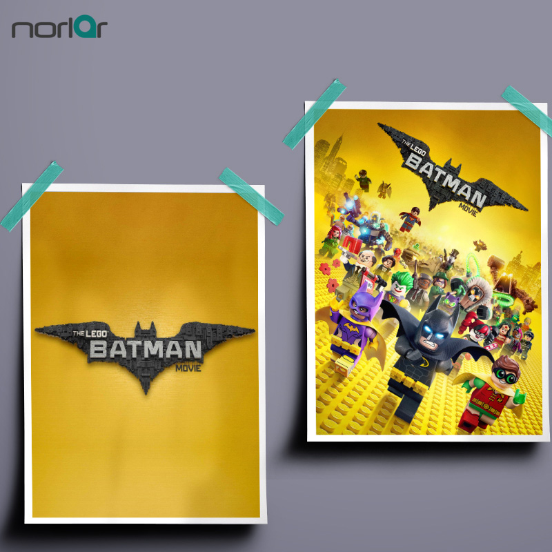 Lego Batman Movie Fan Art Poster Movie Film Fosters and Print Canvas ...