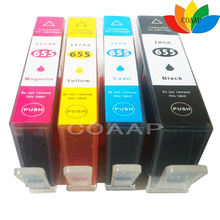 цена на 1set For Compatible HP655 655XL ink Cartridge 4 color for HP deskjet 3525 4615 4625 5525 6525 with chip