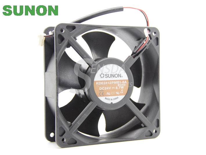 SUNON KDE2412PMB1 6A 12038 DC 24V 6.7W 120X120X38MM 12cm server cooling fan-in Fans & Cooling from Computer & Office on AliExpress - 11.11_Double 11_Singles' Day 1