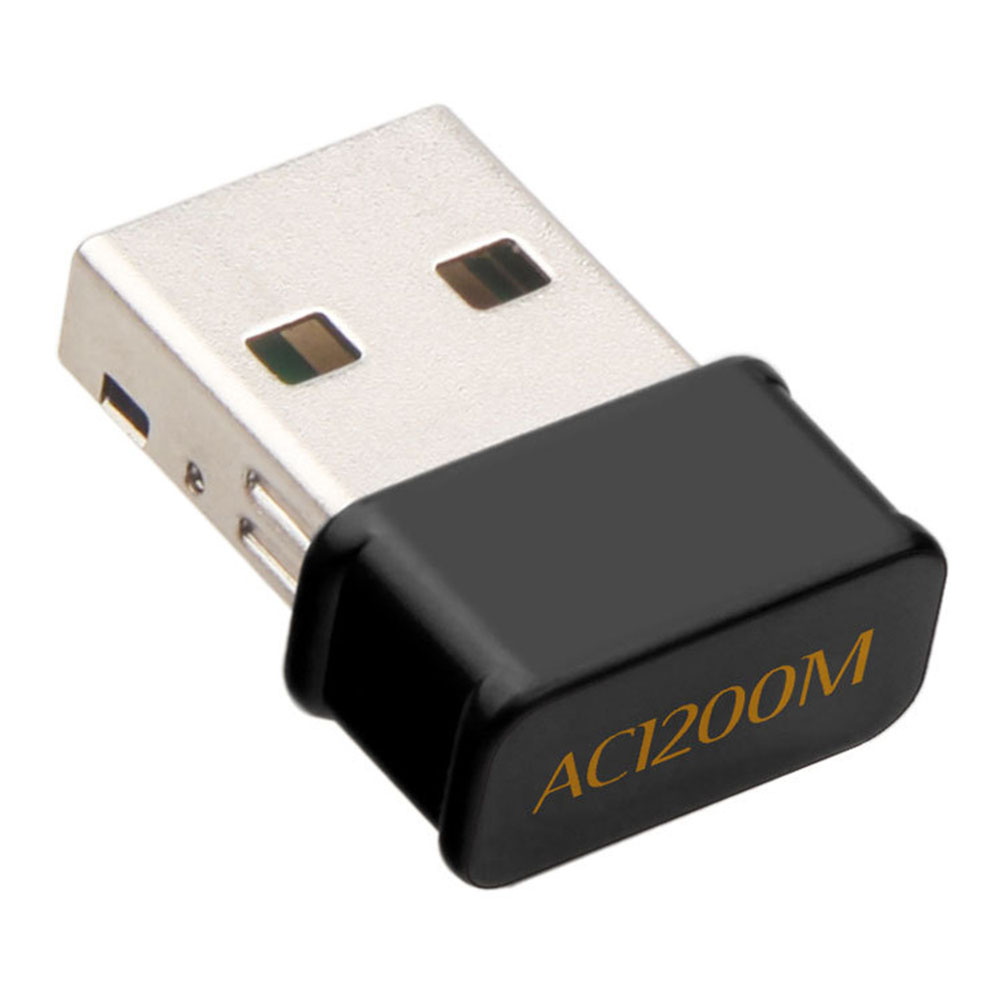 Mini Wifi Adapter USB 3.0 2.4G/5G Wireless AC1200Mbps Network Card Dongle Dual Band For Laptop Desktop