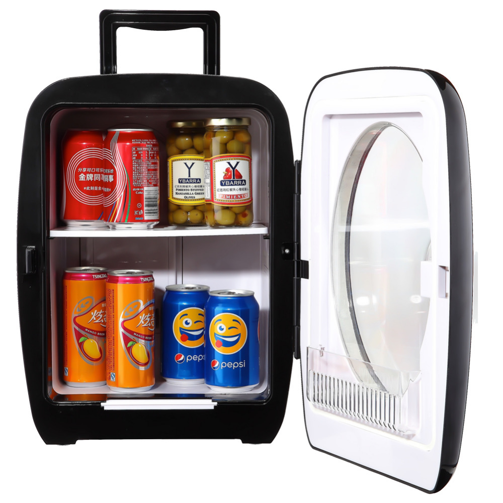 Smad 15L 12V Mini Truck Refrigerator Portable Camping Golf Fridge High Quality Traveling Car Cooler and Warmer smad dc12v 4l abs mini car cooler warmer thermoelectric car truck refrigerator fridge beer soda 6 can fishong camper
