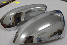 цена на ABS Chrome Rearview Side Door Mirrors Cover Trim 2PCS for Nissan Qashqai 2007 2008 2009 2010 2011 2012 2013 car-styling
