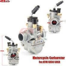 New 19mm Carburetor Carb For ktm50 50SX SX50 JUNIOR 50cc Dirt Pit Bike Mini Pro Junior/senior Adventure motor