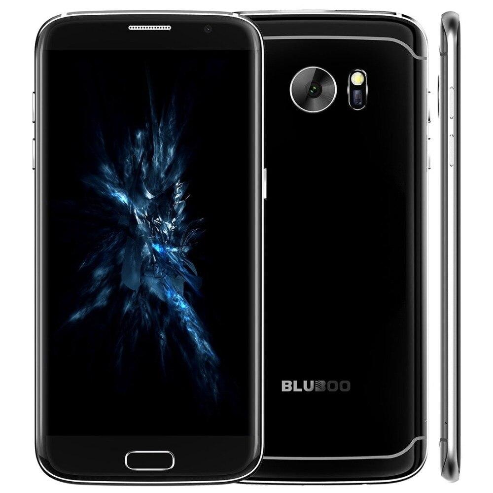 Original Bluboo MT6737 Borde Android 6.0 4G Smartphone Quad Core 5.5 pulgadas De