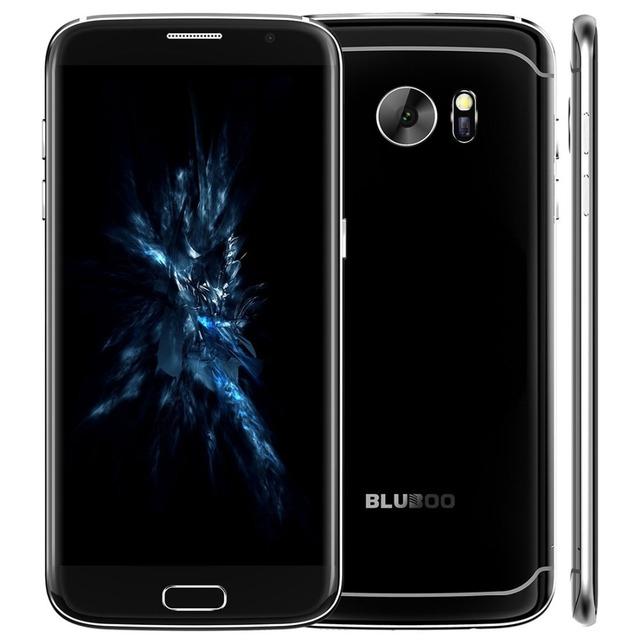 Original Bluboo MT6737 Borde Android 6.0 4G Smartphone Quad Core 5.5 pulgadas Del Teléfono Móvil RAM 2 GB ROM 16 GB Dual SIM teléfono móvil