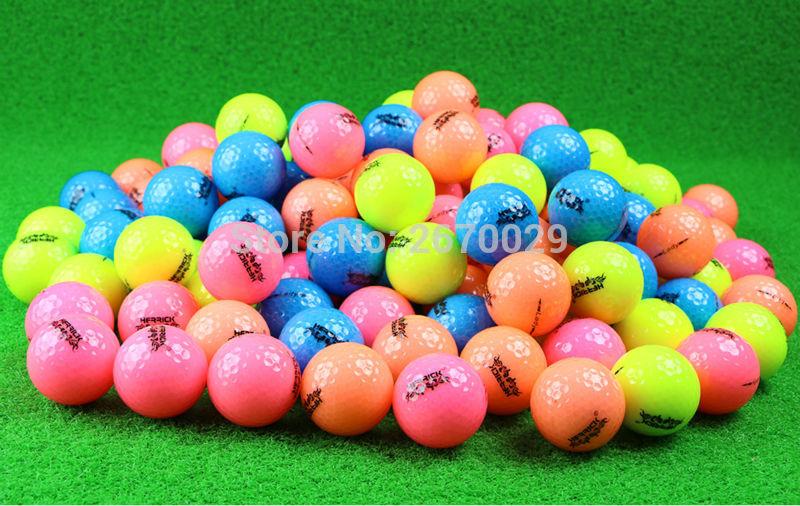 Golf Ball Golf Game Ball Dva sloja High-Golf Golf Ball 4 Barva za izbiro Distribucijske držalo za golf Ball brezplačna poštnina
