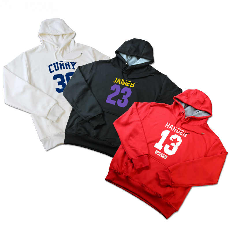2c003a1584c LeBron James Harden Chris Paul Stephen Curry Kyrie Irving Kevin Durant Hoodies  Sweatshirt Hoodie Tracksuit Pullover
