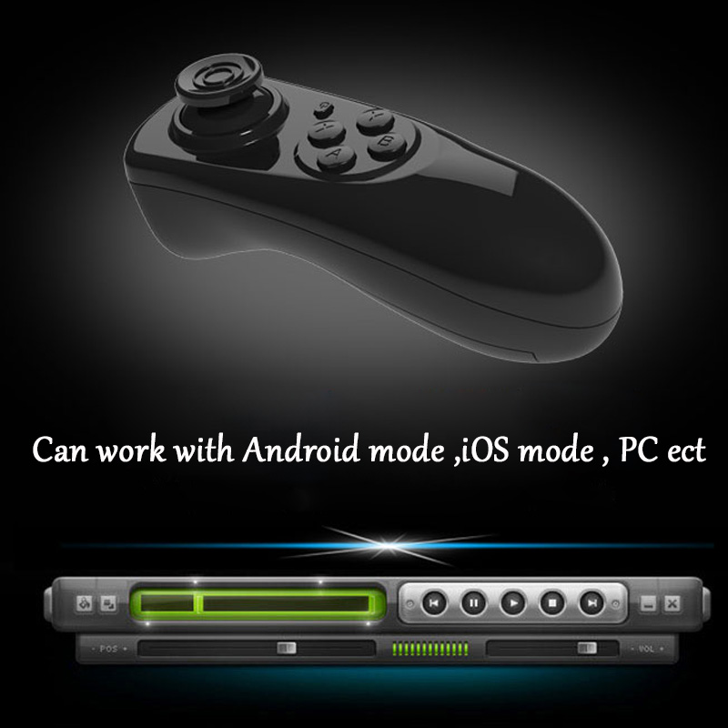 Wireless Bluetooth Gamepad TV PC VR Remote Controller For Android Joystick Game ios gamepa Control For 3D Glasses VR BOX 13