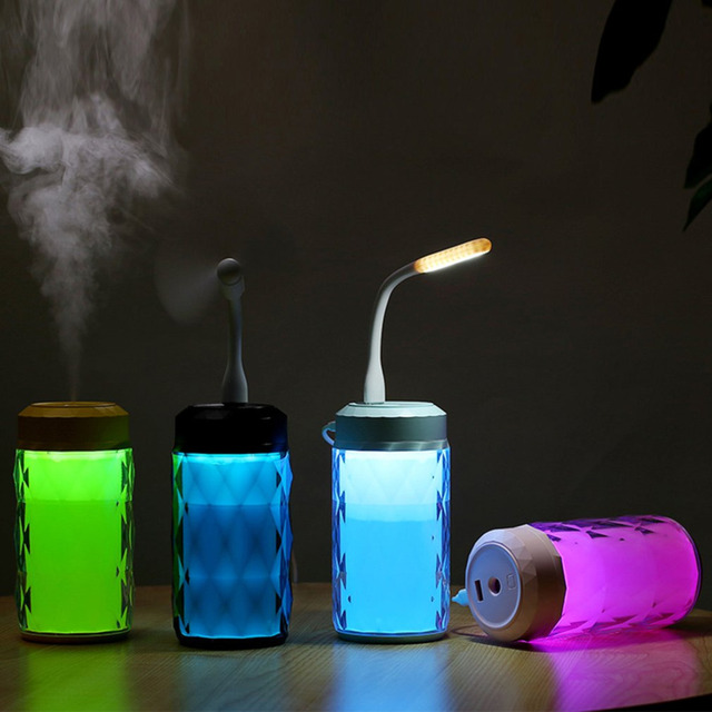 Electronic LED Multi function humidifier 3