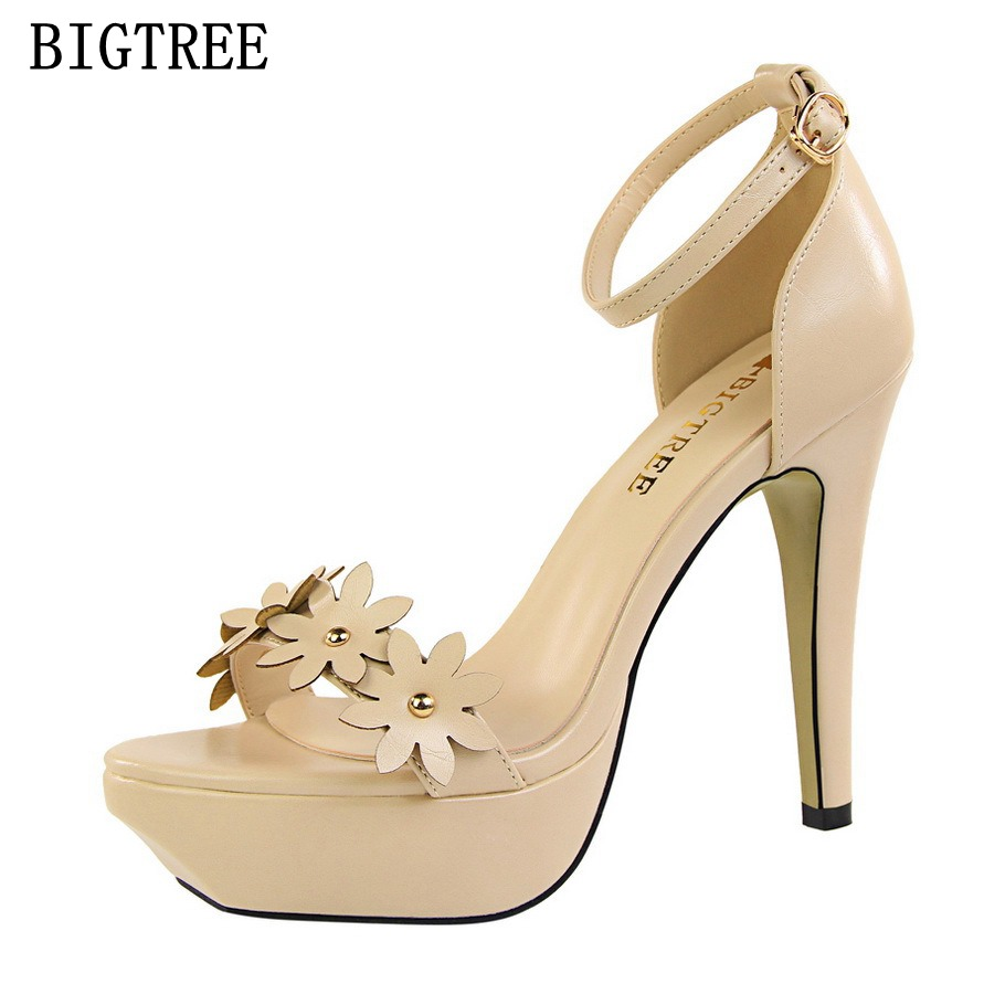 Summer new woman High heels shoes Fashion Sexy Red Wedding 12CM Thin Comfortable Women Pumps Ladies Party High Heels sandals fashion buttons rivet studs high heels designer gladiator sandals red black women pumps party dress sexy wedding shoes woman