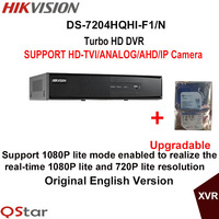 Hikvision Original English Version DS 7204HQHI F1 N Turbo HD DVR SUPPORT 2MP HD TVI AHD