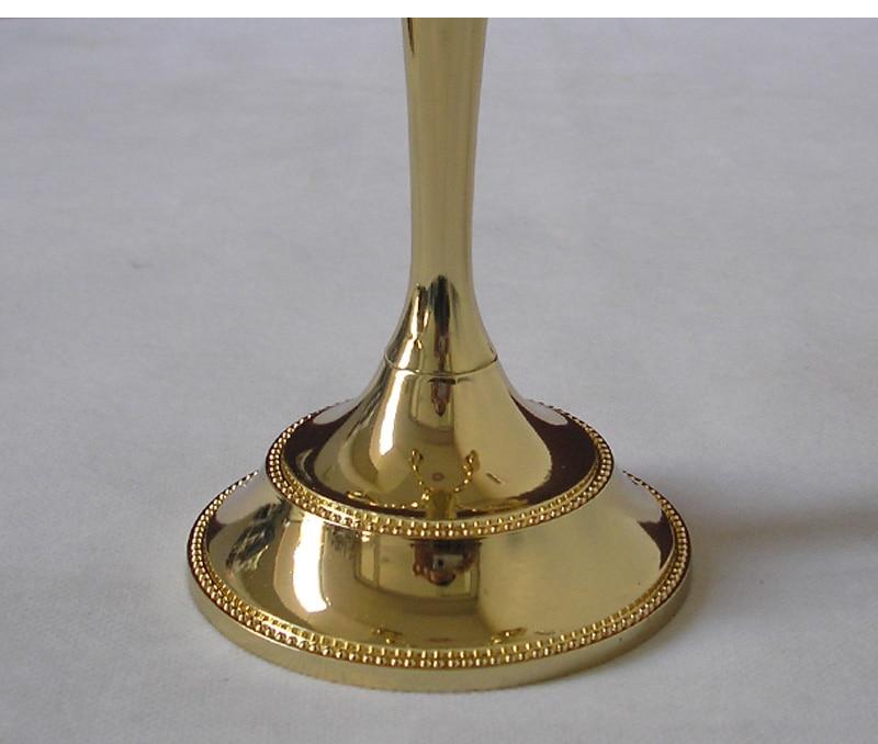 μοντέρνο χέρι 5 χρυσό κάτοχος κερί - Διακόσμηση σπιτιού - Φωτογραφία 6
