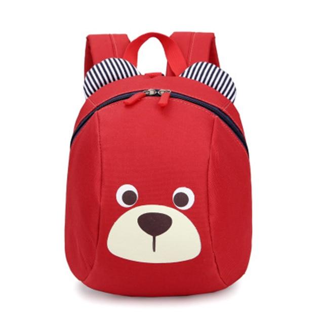 cute bear backpack Baby shoulders small school bag 1-2-3 year old children  boy gilr children anti-lost cute cartoon backpack 377eb5bfef01b
